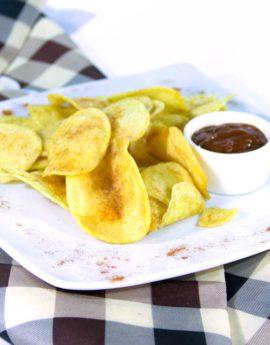 4картофельные чипсы