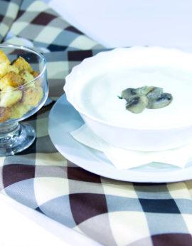 8суп пюре грибной